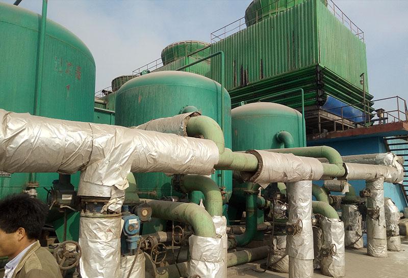 水处理纤维球过滤工程